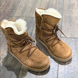"UGG women's ""Lodge"" boots"